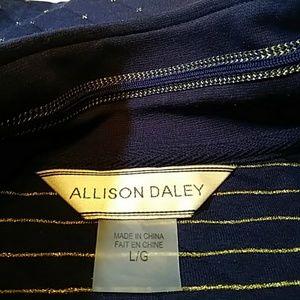 Allison Daley zip vest